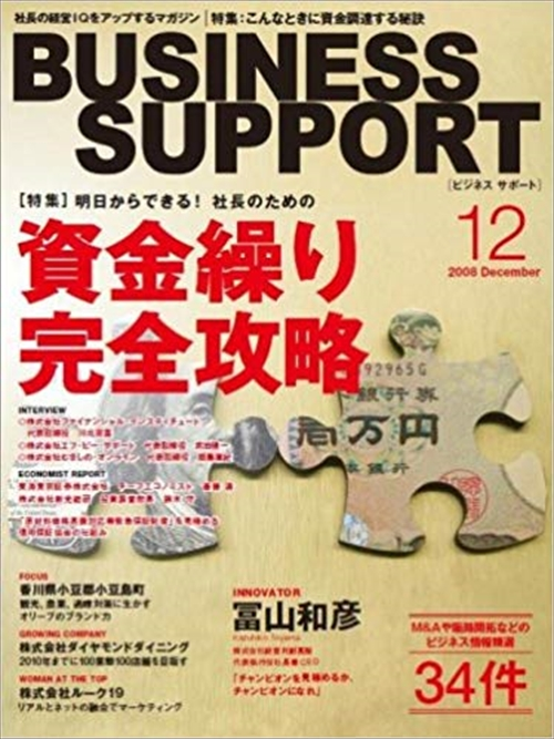 BUSINESS SUPPORT 2008 12