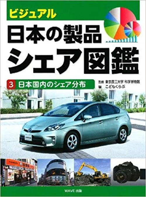 ③日本国内のシェア分布
